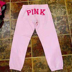 Victoria's Secret pink Sweatpants